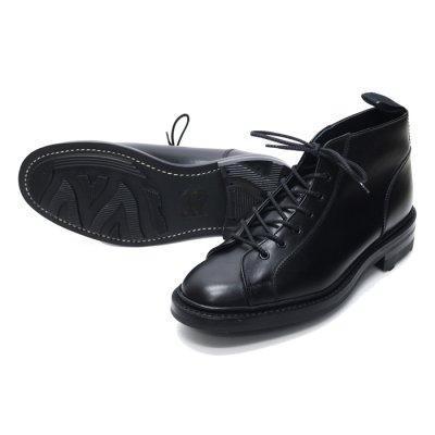 画像2: Tricker's(トリッカーズ)モンキーブーツ(リッジウェイソール)/Black Box Calf(ブラックボックスカーフ)
