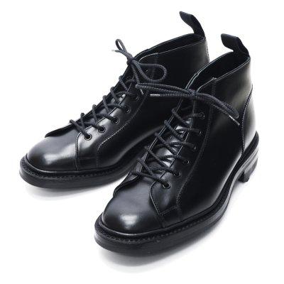 画像1: Tricker's(トリッカーズ)モンキーブーツ(リッジウェイソール)/Black Box Calf(ブラックボックスカーフ)