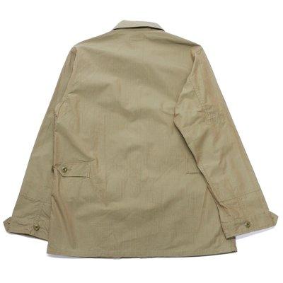 画像2: A VONTADE(アボンタージ)BDU Tropical Jacket(BDUトロピカルジャケット)Yarn Dyed Ripstop/Khaki(カーキ)