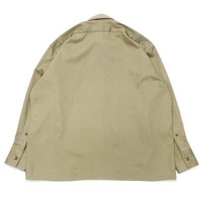 """画像2: INDIVIDUALIZED SHIRTS(インディビジュアライズドシャツ)Uniform Shirt(ユニフォームシャツ)""""Military Twill""""/Khaki(カーキ)"""