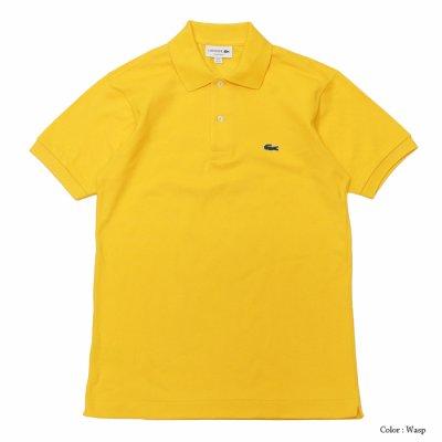 画像2: LACOSTE(ラコステ)Classic Fit Pique Polo Shirt(クラシックフィットピケポロシャツ)/Wasp(イエロー)・Bailloux(ブルーグリーン)※Imported from France