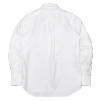 """画像2: INDIVIDUALIZED SHIRTS(インディビジュアライズドシャツ)Standard Fit Long Sleeve B.D.Shirt(スタンダードフィットロングスリーブボタンダウンシャツ)""""Regatta Oxford""""/White(ホワイト)"""