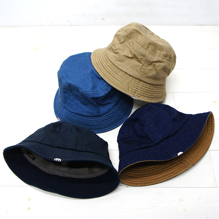 DECHO(デコー)Bucket Hat(バケットハット)Denim Indigo(インディゴ)  32-D-05  b1e6a4f47ed