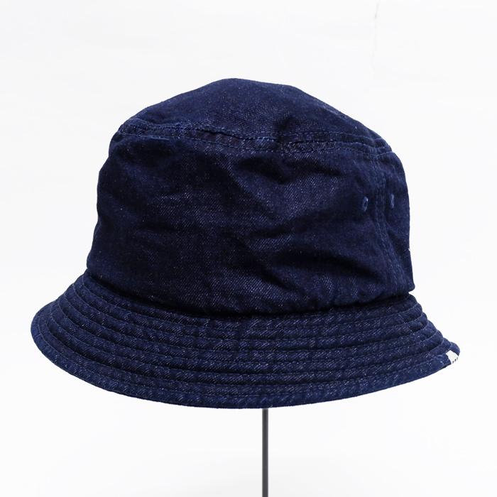 DECHO(デコー)Bucket Hat(バケットハット)Denim S.Indigo(S.インディゴ)  32-D-05  233e46e581a