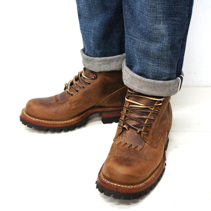 White's Boots(ホワイツブーツ)SMOKE JUMPER(スモークジャンパー)/Distressed