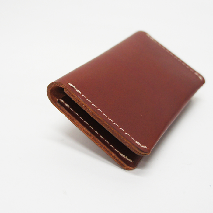 Oro Russet Frontier Red Wing 95013 Leather Card Holder Wallet